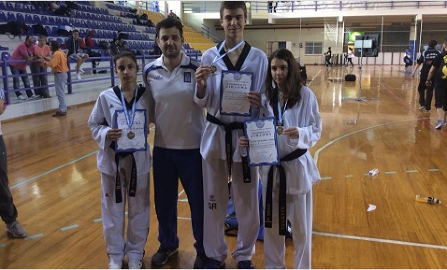 Aiantas Tae Kwon Do Χαλκίδα 3/5/2015